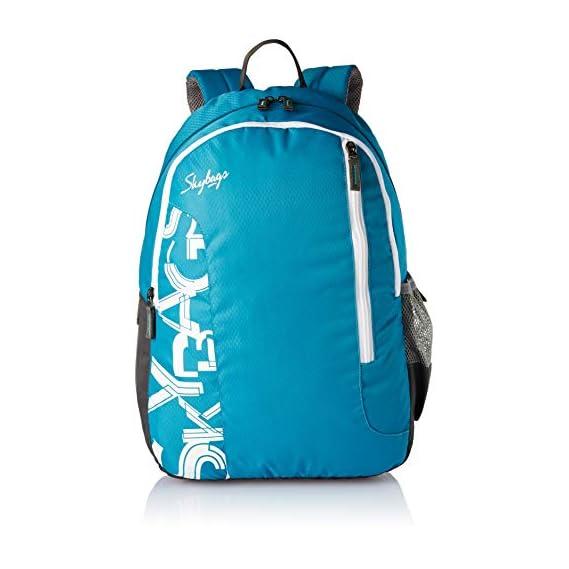 Skybags Blue Casual Backpack (BPBRA10ELBU)