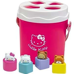Hello Kitty Bucket Shape Sorter Bath time Tub Playset
