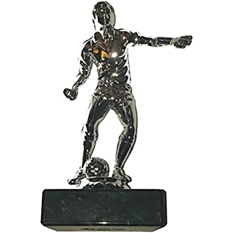 Economía fútbol Trofeo–plástico fútbol figura en Base de mármol decorativo (5