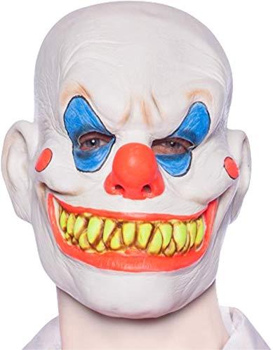 Tk group timo klingler maschera di halloween horror mummy per maschere maschili e femminili (clown mask ed.1)
