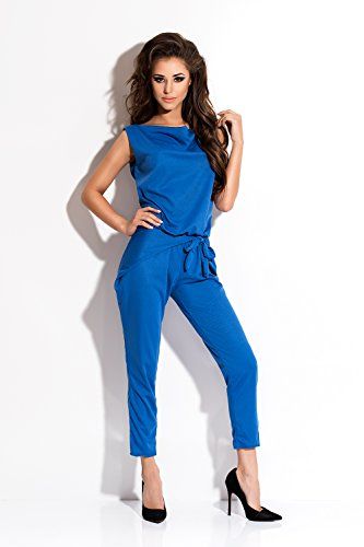 Amazinggirl - Tuta -  donna Blu
