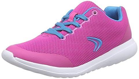Clarks SprintZone Jnr, Mädchen Sneakers, Pink (Pink Combi), 34 EU