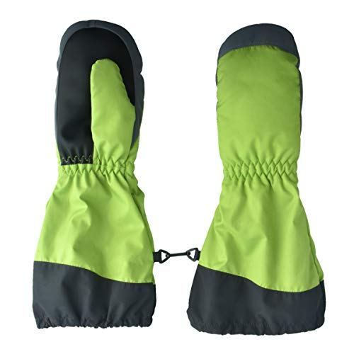 Yungho Reithandschuhe Kinder, Kinderhandschuhe Wasserdicht, Winter Handschuhe für Junge Mädchen, Sporthandschuhe Skihandschuhe Fäustlinge Kinder, Fleece Thermo Winterhandschuhe für Outdoor Sport