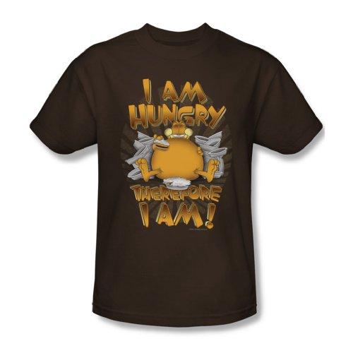 Garfield - Männer deshalb bin ich T-Shirt In Coffee Coffee