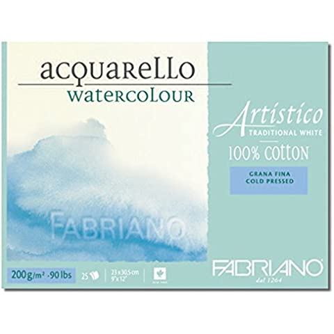 Blocco Artistico Traditional White 200gr grana fina