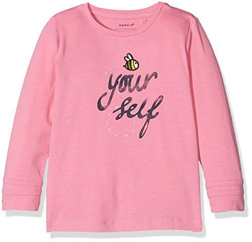 NAME IT NAME IT Baby-Mädchen Langarmshirt NBFERMONA LS TOP Box Rosa (Wild Orchid) 56