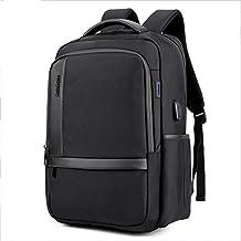 Ruanlei @ mochilas hombre casual impermeable/laptop backpack/Mochila de Negocio / Mochila Portátil Impermeable Oxford usb doble bolso impermeable de tela