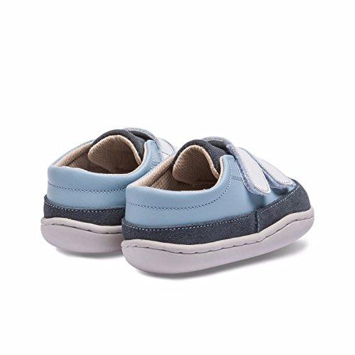 Little Blue Lamb , {Chaussures premiers pas pour bébé (garçon) bleu Bleu gris 12-18 mois Bleu gris