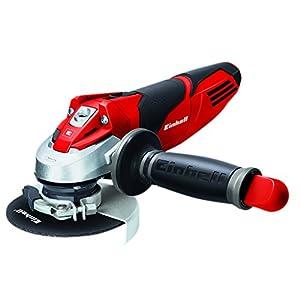 Einhell TE-AG 115/600 -Amoladora Expert , 600 W, 230 V, Rojo/Negro, 125 x 130 x 325 (ref. 4430855)