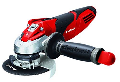 Einhell TE-AG 115/600 - Amoladora, disco de 115 mm, 11000 rpm, 600 W, 230 V, color negro y rojo