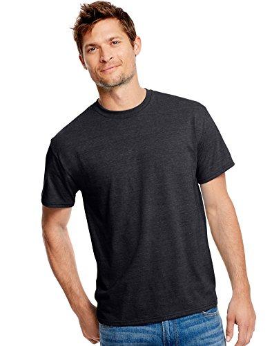 hanes-t-shirt-maniche-corte-uomo-slate-heather-l