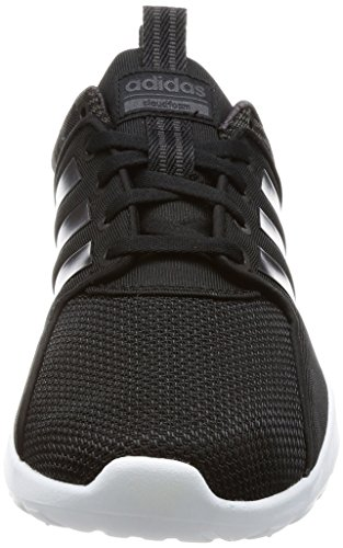 adidas Damen CF Lite Racer Sneaker Schwarz (Core Black/Utility Black/Trace Grey Metallic)