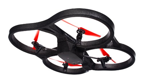 Parrot AR.Drone 2.0 Power Edition Quadrocopter (geeignet für Android-/Apple-Smartphones und -Tablets) rot - 10