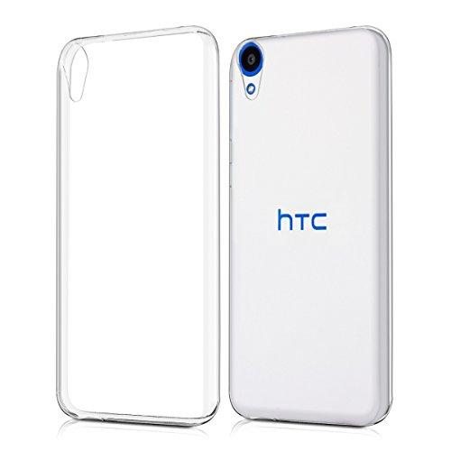 kwmobile HTC Desire 820 Hülle - Handyhülle für HTC Desire 820 - Handy Case in Transparent