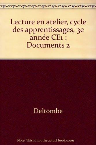 Lecture en atelier CE1, livrets Documents 2