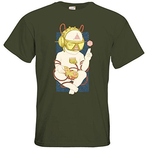 getshirts - Rocket Beans TV Official Merchandising - T-Shirt - Zukunftskind Khaki