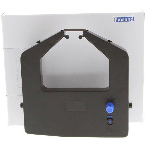 Fujitsu Farbband, Schwarz (Farbband für Fujitsu DL 3400, kompatibel Marke Faxland, DL3400)