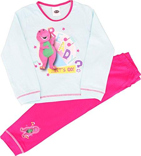 Barney Girls Barney amp; Friends Snuggle Fit Pyjamas Size 3- 4 Years