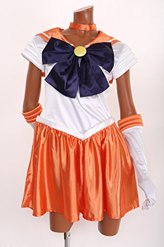 Sailor Moon Henshin! Narikiri Kostuem Sailor Venus (Kostüm Venus Sailor)