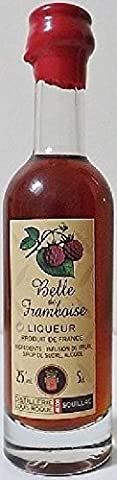 liqueur belle de framboise bouteille elegance 70cl presentee en etui louis roque