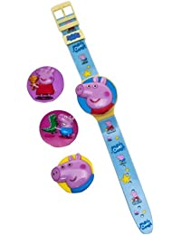 Peppa Pig Interchangeable Head Lcd Watch
