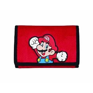 """Nintendo DS, DSi, DS Lite – Tasche """"Mario"""" Rot (Plüsch)"""