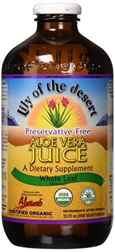 Lily Of The Desert Organic Whole Leaf Aloe Vera Juice 946 ml -