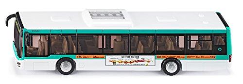 Siku - 3734F -   Véhicule sans piles - bus urbain ratp - 1,50 ème - metal 4006874137343