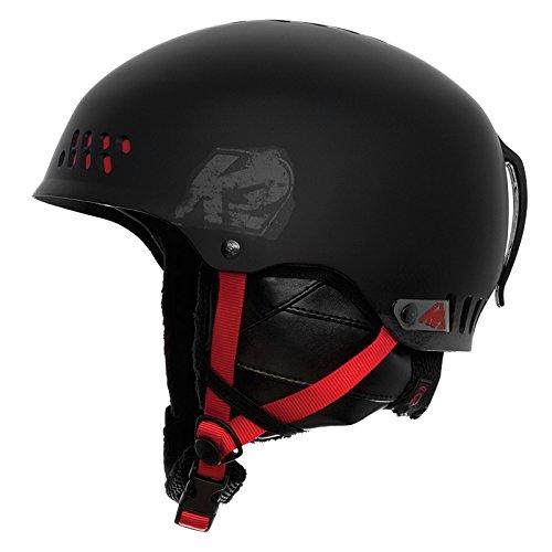 K2 Herren Skihelm Phase Pro, L-XL (59-62 cm), Black Red