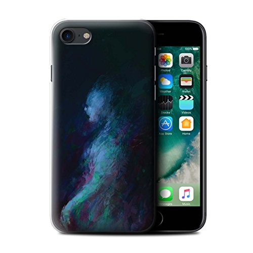 Offiziell Chris Cold Hülle / Case für Apple iPhone 7 / Hohe Königin Muster / Dunkle Kunst Dämon Kollektion Geist/Ghul