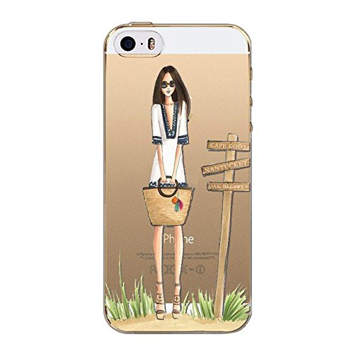 Blitz® FASHION motifs housse de protection transparent TPE SAMSUNG Galaxy trois pingouins M14 iPhone X en attendant le bus M9