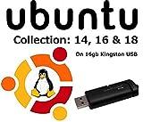 Linux Ubuntu 16.04 Sistema operativo completo e software su USB - 64 e 32 bit