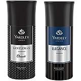 Yardley London Deodorant For Men Gentleman And Elegance Combo Pack 2 (150 Ml)