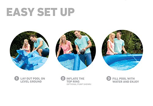 Intex Easy Set Aufstellpool, blau, Ø 457 x 122 cm - 9