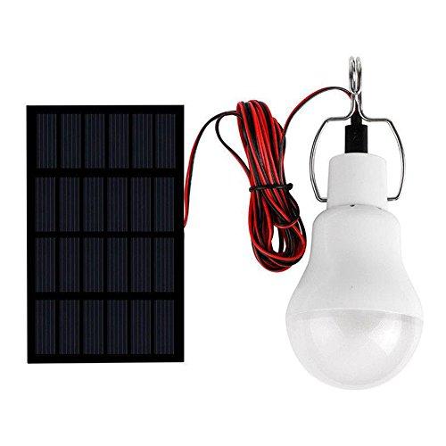 Energiesparendes und umweltfreundliches Wiederaufladbares angetriebenes LED Bremslicht-wandernde kampierende helle Zelt-Energie-Lampe Weiß Tragbare Lämpchen Licht Birne