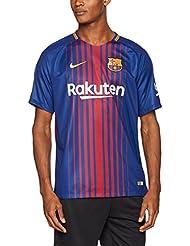 Nike FCB M NK BRT Stad JSY SS HM Camiseta 1ª Equipación Línea FC Barcelona, Hombre, Azul (Deep Royal Blue / University Gold), M