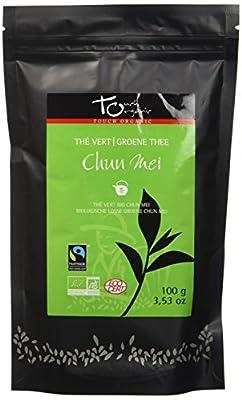 Touch Organic Thé Vert Vrac Original 100 g - Pack de 6