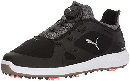 Preisvergleich Produktbild PUMA Golf Men's Ignite Pwradapt Disc Golf Shoe,  Black / Black,  7.5 Medium US
