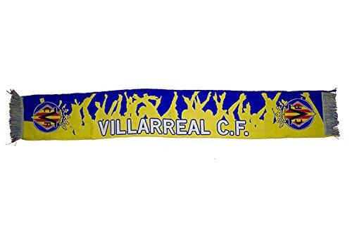 Villarreal CF Bufvil Bufanda Telar, Azul / Amarillo, Talla Única