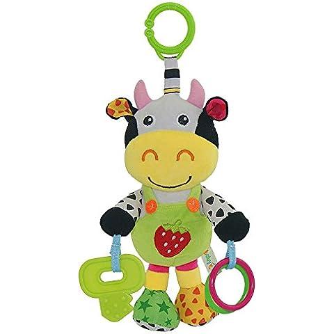 Rosba (TM) multifunzionale 13 'infantile del bambino Sonagli bambola molle giocattolo della peluche dell'animale Passeggino Musica Hanging campana del regalo del giocattolo FCI #