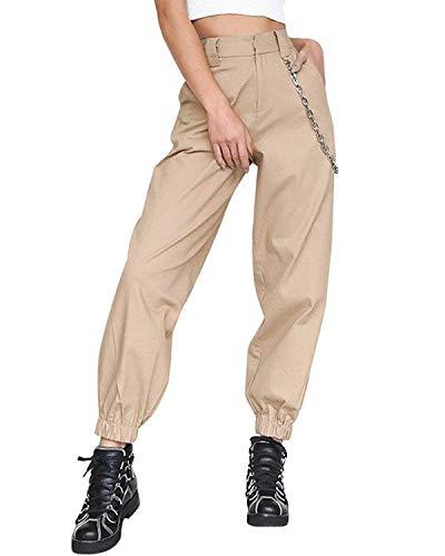 Pantalones De Harén Holgados Mujer Pantalones De