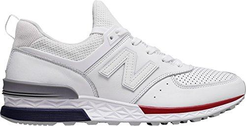 New Balance Sneaker Suede/Mesh Bianco - 10œ