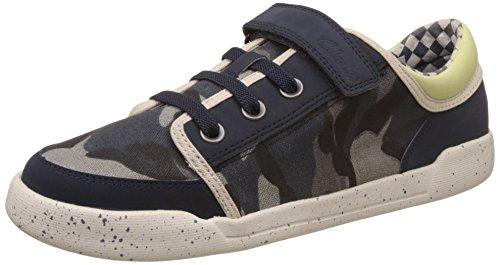 Clarks Kintor Boy 203578427 - Zapatos para unisex-adulto, color verde, talla 32