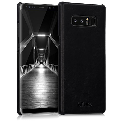 kalibri-Echtleder-Backcover-Hlle-fr-Samsung-Galaxy-Note-8-Leder-Case-Cover-Schutzhlle-in-Schwarz