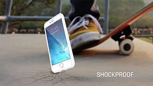 """iPhone 6 6s PLUS 5.5"""" Cover / Case / Hülle / Fall True Color® Zerknittertes Braune Papiertüte [Zerknittert Textur Sammlung] Slim Hybrid Hard Back + Soft TPU Bumper Protective Durable [True Protect Ser weißes Papier"""