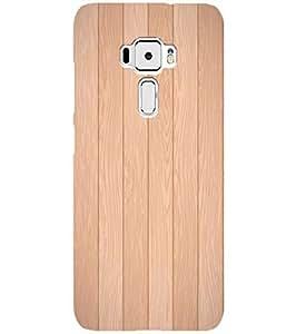 YuBingo Asus Zenfone 3 ZE520KL (5.2 Inches) Designer Phone Back Case Cover ( Wood Finish (Plastic) )