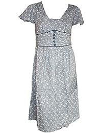 40s Vintage Style Cotton Tea Dress. Sizes 8-16