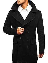 BOLF Herrenmantel Mantel Wärmemantel Winterjacke Übergangsjacke Coat MIX