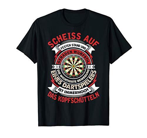 Lustig Dart Dartscheibe T shirt