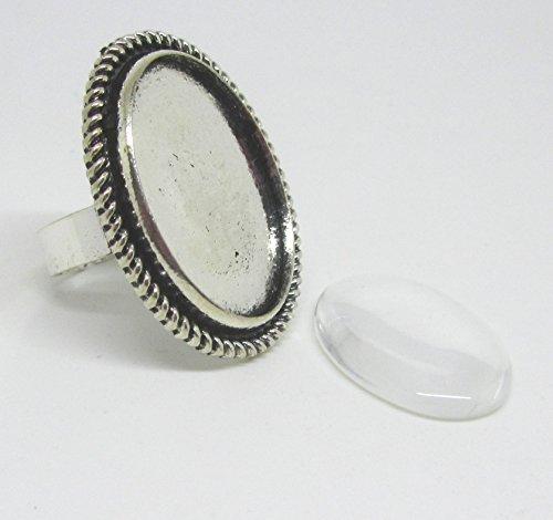 4-ovale-antique-silver-anelli